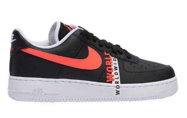 2020 Nike Air Force 1 Worldwide Black Crimson Coming Soon