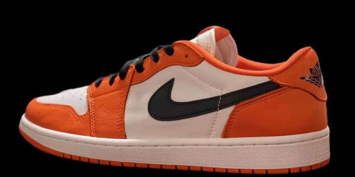"2021 Air Jordan 1 Low OG"" Starfish"" Basketball Shoes CZ0790-801"